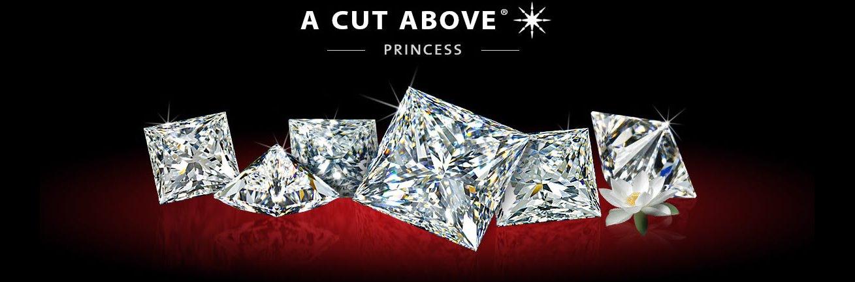 A Cut Above Princess Diamonds